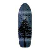 Old School Longboard Deck - In the Pines Blue