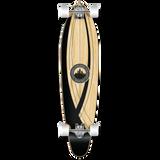 Kicktail Crest Onyx Longboard Complete