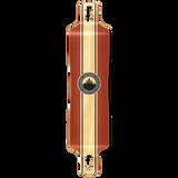 Lowrider Crest Burgundy Longboard Deck