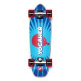 Yocaher Complete Mini Cruiser Skateboard Longboard  - CANDY Series - Pop