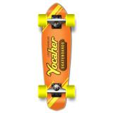Yocaher Complete Micro Cruiser Skateboard Longboard  - CANDY Series - PB & C