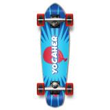 Yocaher Complete Micro Cruiser Skateboard Longboard  - CANDY Series - Pop