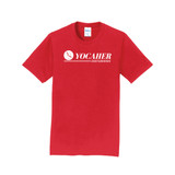 Yocaher Classic Fit New Logo  T-Shirt - RED