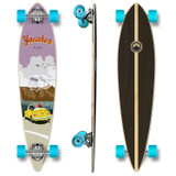 YOCAHER Pintail Longboard Complete - VW Beetle Series - Yellow