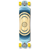 YOCAHER Lowrider Longboard Complete - Earth Series - Ripple