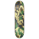 Yocaher Graphic Skateboard Deck  - Camo Series - Green