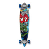 Pintail Robot Longboard Complete