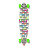 Pintail Shades White Longboard Complete