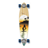Pintail Surfer Natural Longboard Complete