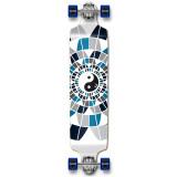 Drop Down Yin Yang Longboard Complete