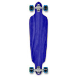 Drop Through Blank Longboard Complete - Stained Blue