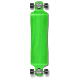 Lowrider Blank Longboard Complete - Stained Green