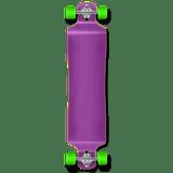 Lowrider Blank Longboard Complete - Stained Purple