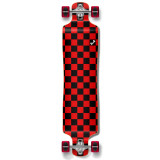 Lowrider Longboard Complete - Checker Red