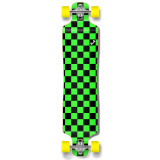 Lowrider Longboard Complete - Checker Green