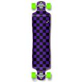 Lowrider Longboard Complete - Checker Purple