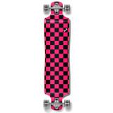 Lowrider Longboard Complete - Checker Pink