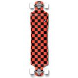 Lowrider Longboard Complete - Checker Orange