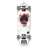Mini Cruiser Ace of Spades Complete - White Ace