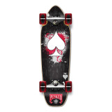 Mini Cruiser Ace of Spades Complete - Black Ace