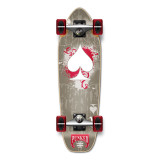 Mini Cruiser Ace of Spades Complete - Grey Ace