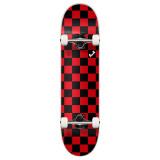 "Graphic Complete 7.75"" Skateboard - Checker Red"