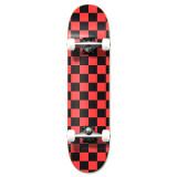 """Graphic Complete 7.75"""" Skateboard - Checker Orange"""