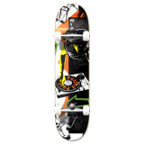 """Yocaher Graphic Mixitup Complete 7.75"""" Skateboard"""