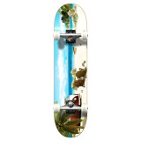 """Yocaher Graphic Getaway Complete 7.75"""" Skateboard"""