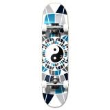 "Graphic Yin Yang Complete 7.75"" Skateboard"