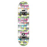 """Yocaher Graphic Shades White Complete 7.75"""" Skateboard"""