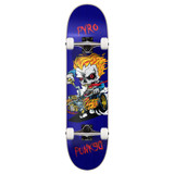 """Yocaher Graphic Hot Rod Pyro Complete 7.75"""" Skateboard"""