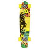 Slimkick Longboard Complete - Tropical Day