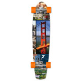 Slimkick Longboard Complete - San Francisco