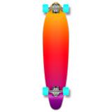 Kicktail Longboard Complete - Gradient Pink