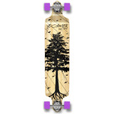 Drop Down Longboard Complete - In the Pines : Natural