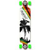 Drop Down Longboard Complete - Palm City Rasta