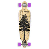 Drop Through Longboard Complete - In the Pines : Natural