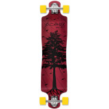 Lowrider Longboard Complete - In the Pines : Red