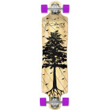 Lowrider Longboard Complete - In the Pines : Natural