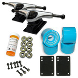 HD5 Skateboard Combo set - 2 tone Polished trucks