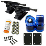 HD5 Skateboard Combo set - Black trucks