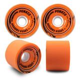Speed Cruiser 70mm Longboard Wheels - Solid Orange