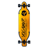 Aluminum Drop Through Complete longboard - Gold