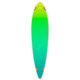 Pintail Longboard Deck - Gradient Green