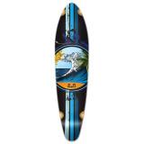 Kicktail Wave Longboard Deck