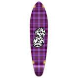 Kicktail Dice Longboard Deck