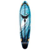 Kicktail Tsunami Longboard Deck
