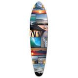Kicktail Seaside Longboard Deck