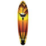 Kicktail Sunset Longboard Deck